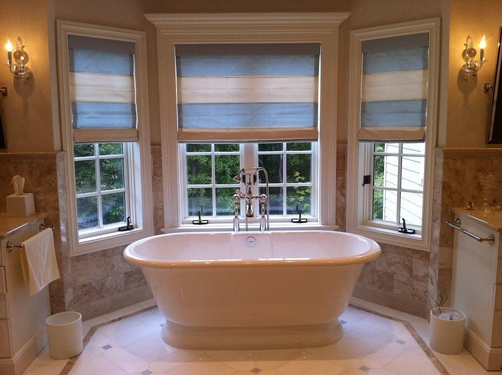 Три окна в ванной