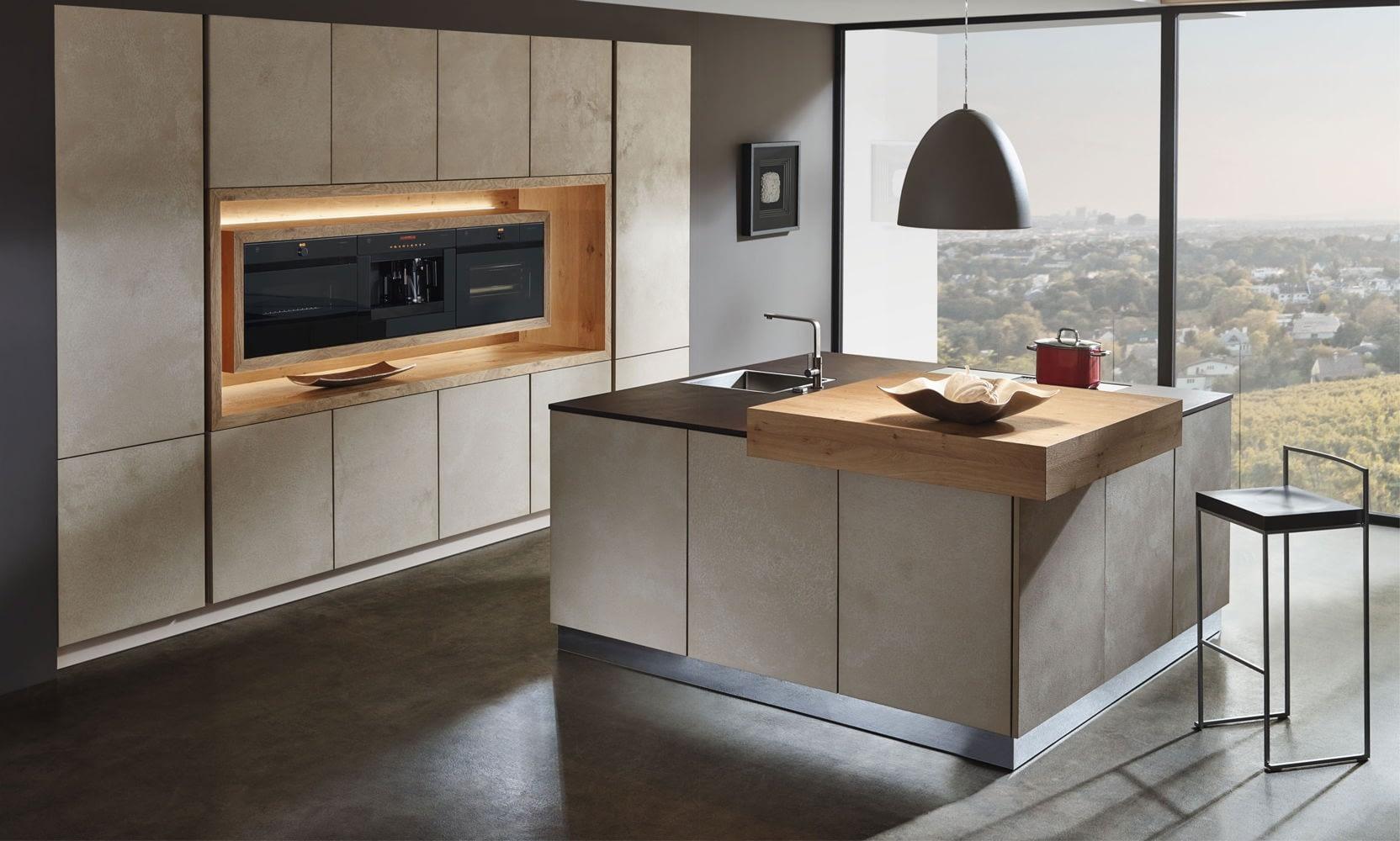 Дизайн маленькой кухни мебель