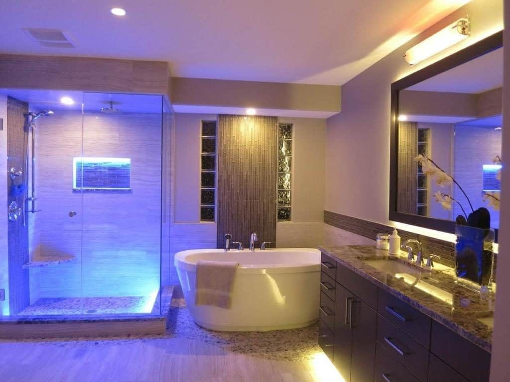 светодиодные светильники ванная