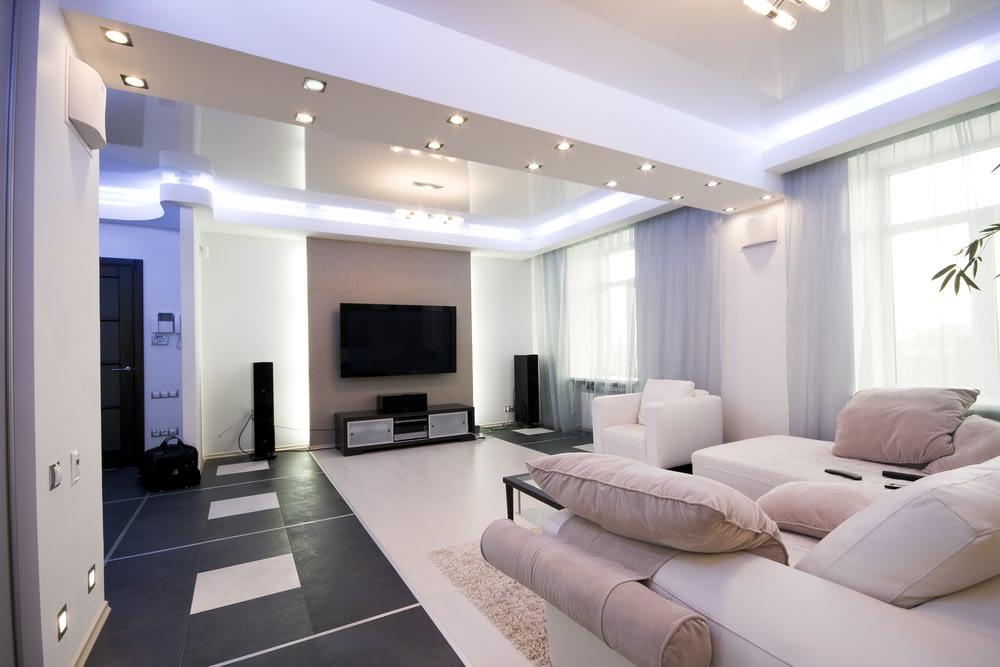 Светодиодные светильники гостиная