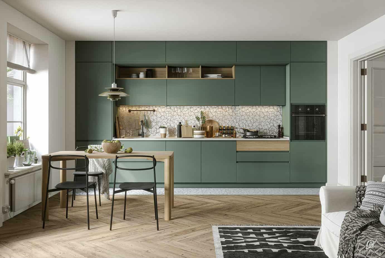 дизайн маленькой кухни, планировка